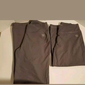 0185146e9c Lands  End · Lands End Women s Gray Yoga Activewear ...